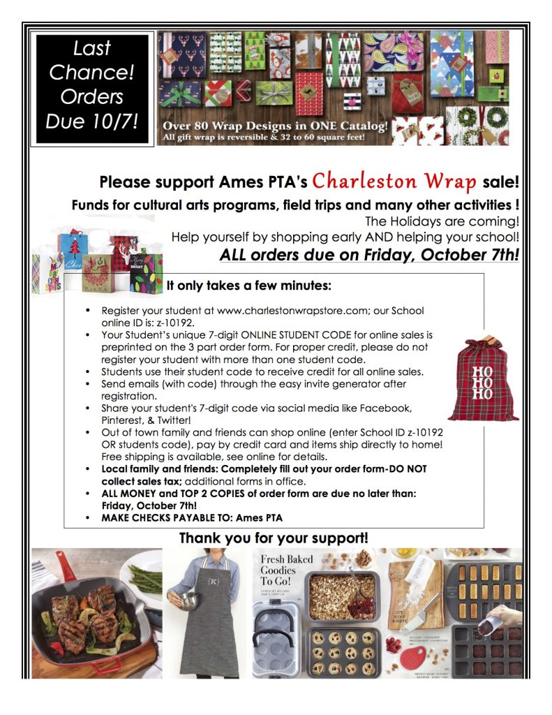 ames-pta-orders-due-flyer-to-post-now